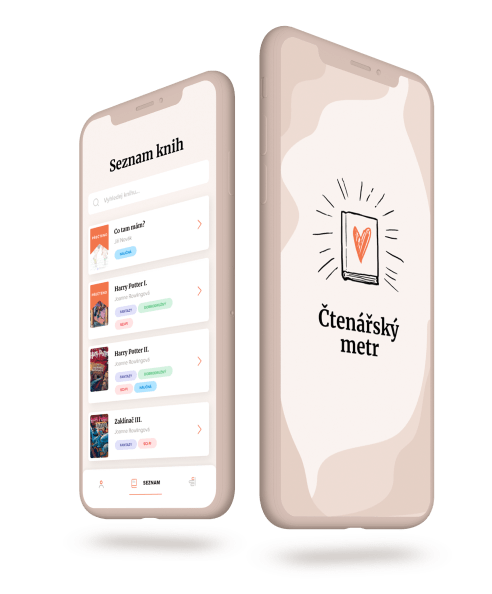 Čtenářský metr — Knihy pro mladé čtenáře!